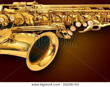 sax on the floor