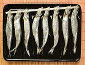 pic of customary  - Dried fish from Hokkaido - JPG