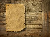 Image of wood background wild west style.