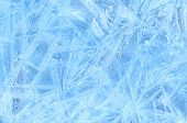 blue ice frozen water natural background