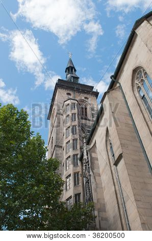 Stiftskirche (collegiate Church) : Est Tower (closeup View)