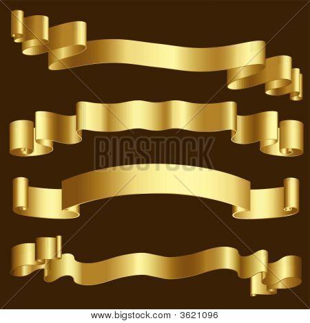 Cintas de oro