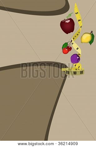 Fruits And Measurement