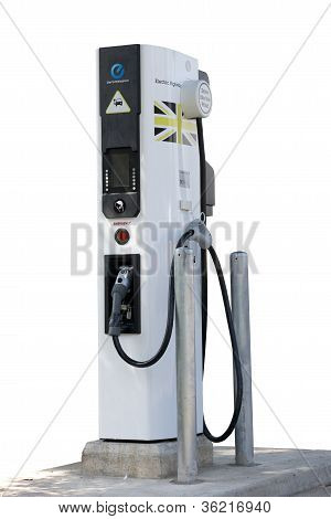 Electric car charger cut out