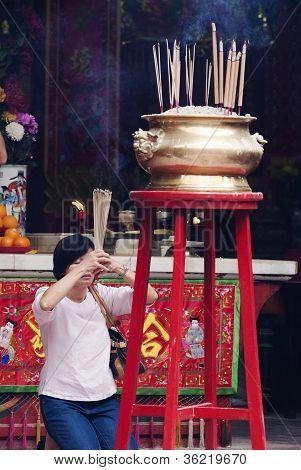 God van oorlog tempel In Kuala Lumpur