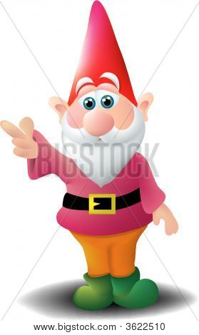 Pointing Gnome