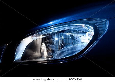 Head Light Volvo S60