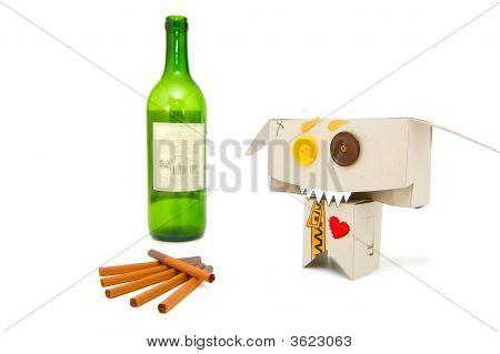 Drunk Funny Smoker