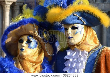 Venetian Carnival Couple