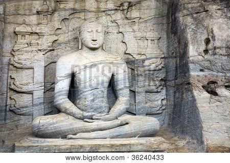 Seated Buddha Meditating