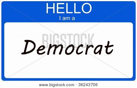 Hello I Am A Democrat