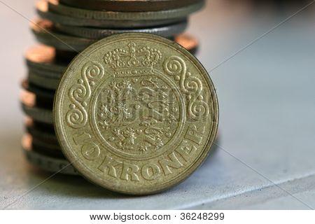 Old european coins,denmark