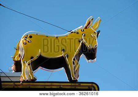 donkey sign