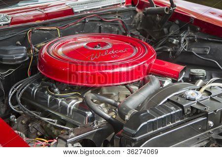 1963 Buick Riveria Engine