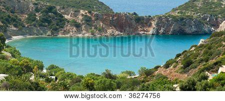 Small Colourful Bay Near Istron