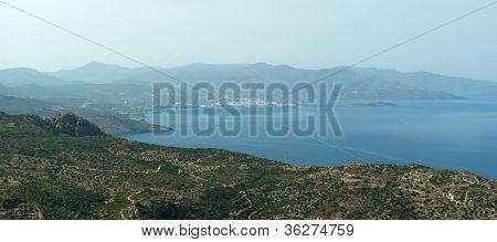 View Of Mirabello Gulf