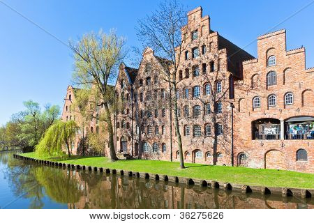 Architecture In Lubeck, Germany.