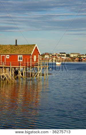 Fishing House On Lofoten