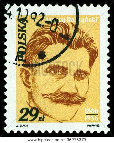 Vintage Postage Stamp.  Ignacy  Daszinski.