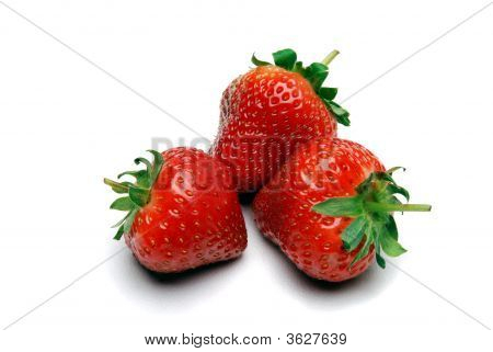 Three Strawberrys