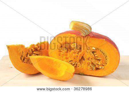 Hokkaido Pumpkin (cucurbita Maxima)