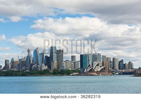 Sydney View At The Noon