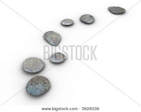 Stones Aligned 2