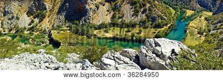Zrmanja River Canyon - Krupa Mouth And Visoki Buk Waterfall