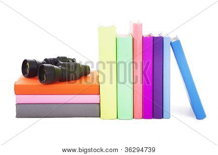 Books And Binocular