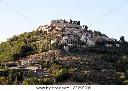 Motovun In Istria