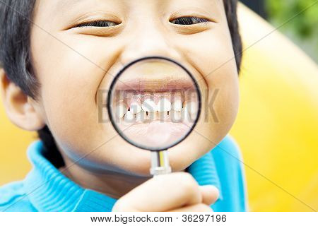 Healthy Teeth Of Child