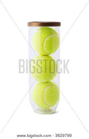 New Tennis Balls