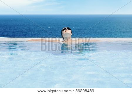 Woman Enjoying Summer Day