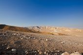 pic of samaria  - Big Stones in Sand Hills of Samaria Israel - JPG