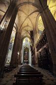 pic of christopher columbus  - The famous cathedral of Seville - JPG