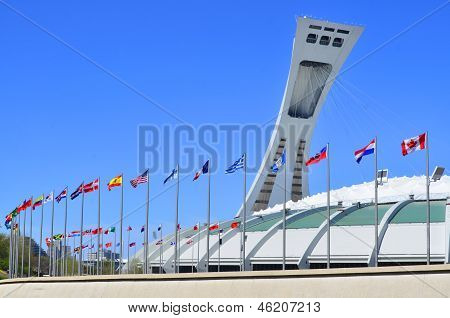 The Montreal Olympic Stadium