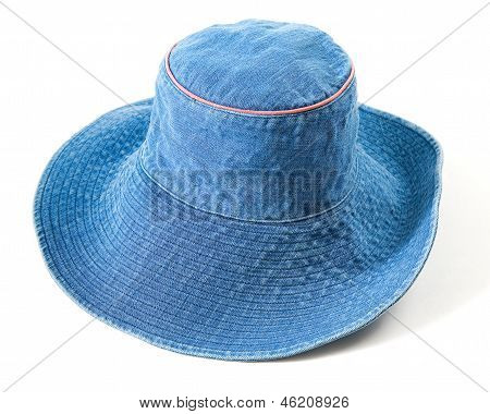 Denim Floppy Hat