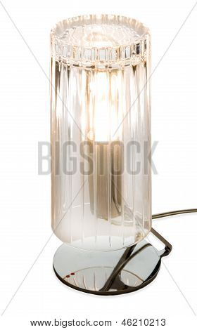 Long Drinking Strips Glass Lamp