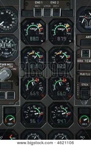 Airplane Power Panel