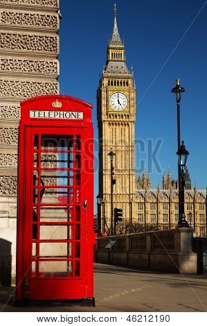 Westminster phone box
