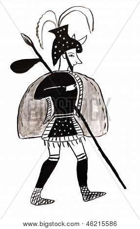 Warrior From Mycenae