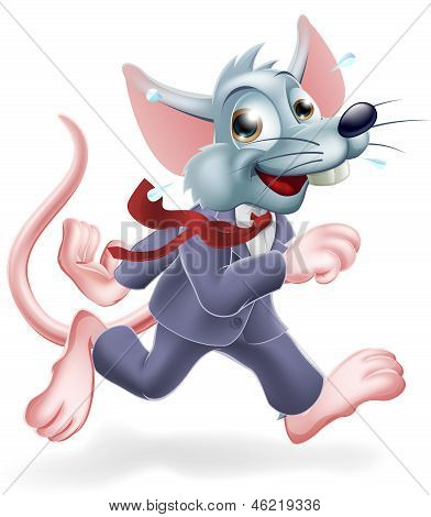 Business Rat Race Concept