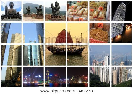 Fabulous Hong Kong Collage