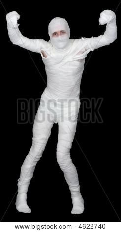 Man In Bandage