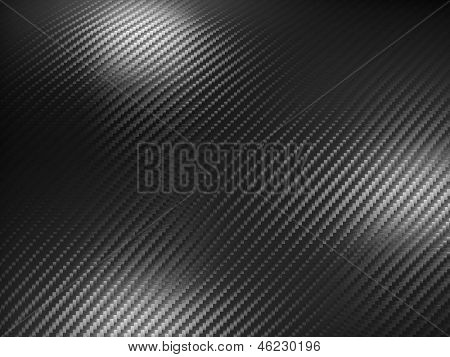 detail of carbon fiber background