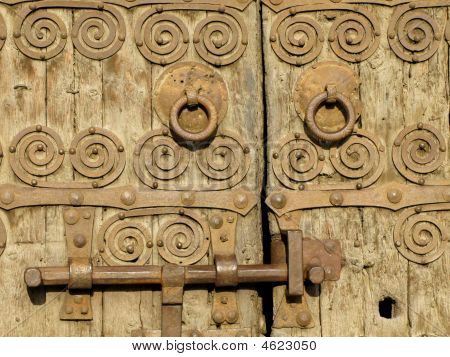 Romanesque Church Door