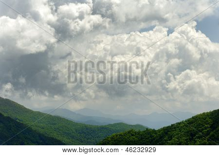 Cloud Over Green Mountain
