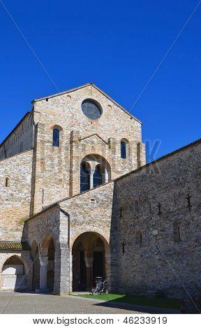 Basilica of Aquileia, Italy