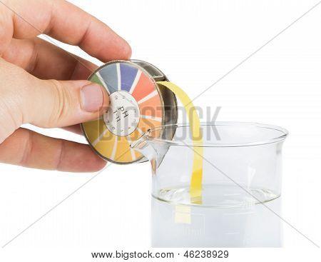 Litmus Paper And Beaker