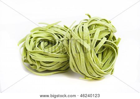 Pasta On White Background.